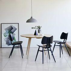 Blog - 5 manieren voor een industriële eetkamer met ronde tafel